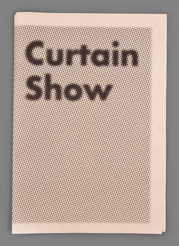 Curtain Show : Céline Condorelli
